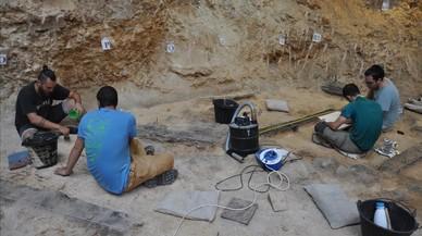 El Abric Romaní reconstruye 70.000 años de vida neandertal