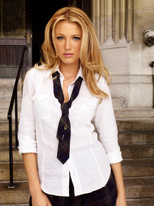 La protagonista de 'Gossip Girl', Blake Lively.