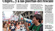 Portada de 'El Mundo'. 18-10-2012.