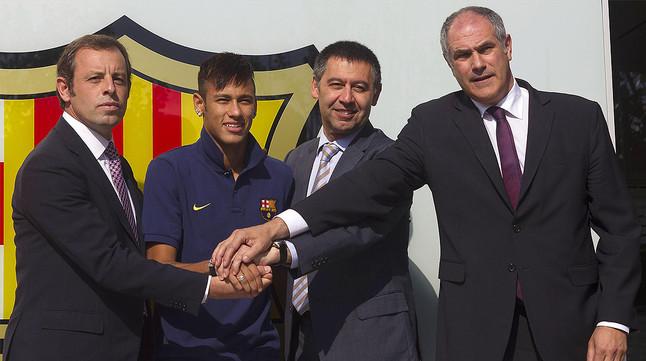 La Audiencia Nacional recula y decide un nuevo destino para el juicio del 'Caso Neymar'