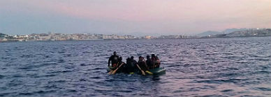 """Hollande califica de """"terroristas"""" a los que trafican con inmigrantes"""