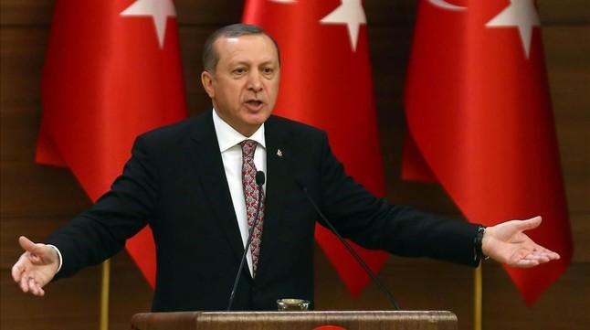 Erdogan, en una comparecencia en Ankara.