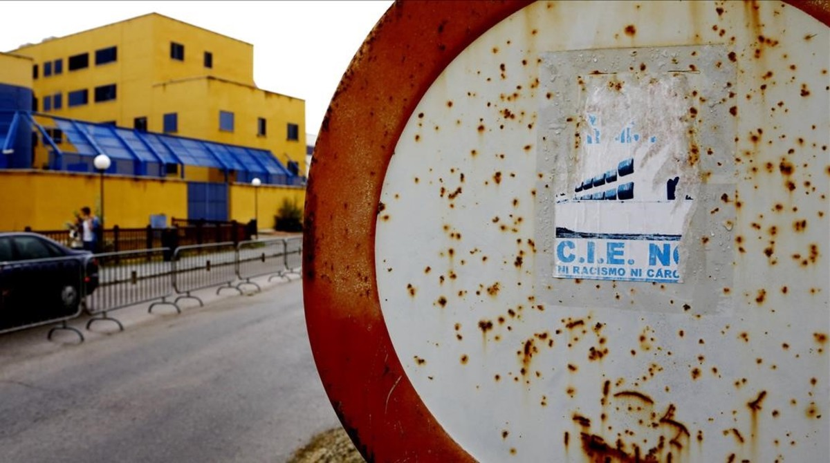 CIE de Aluche, en Madrid.
