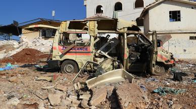 """Assad segueix llançant barrils bomba tot i la nova """"línia vermella"""" dels EUA"""