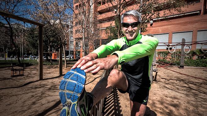 Arcadi Alibés ha corrido más de 130 maratones