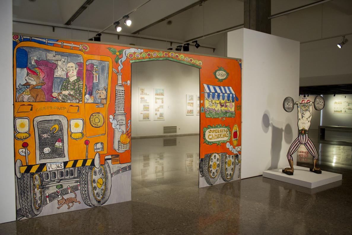 El Centre Cultural Terrassa acoge la exposición Benvinguts al circ de la Pilarín