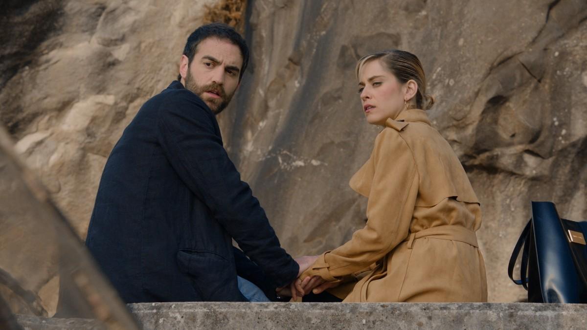 Jon Plazaola y María León, en Allí abajo
