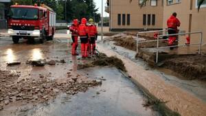 Les pluges descarreguen més de 100 litres a les Terres de lEbre (CA)