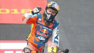 El austriaco Walkner ganó su primer Dakar