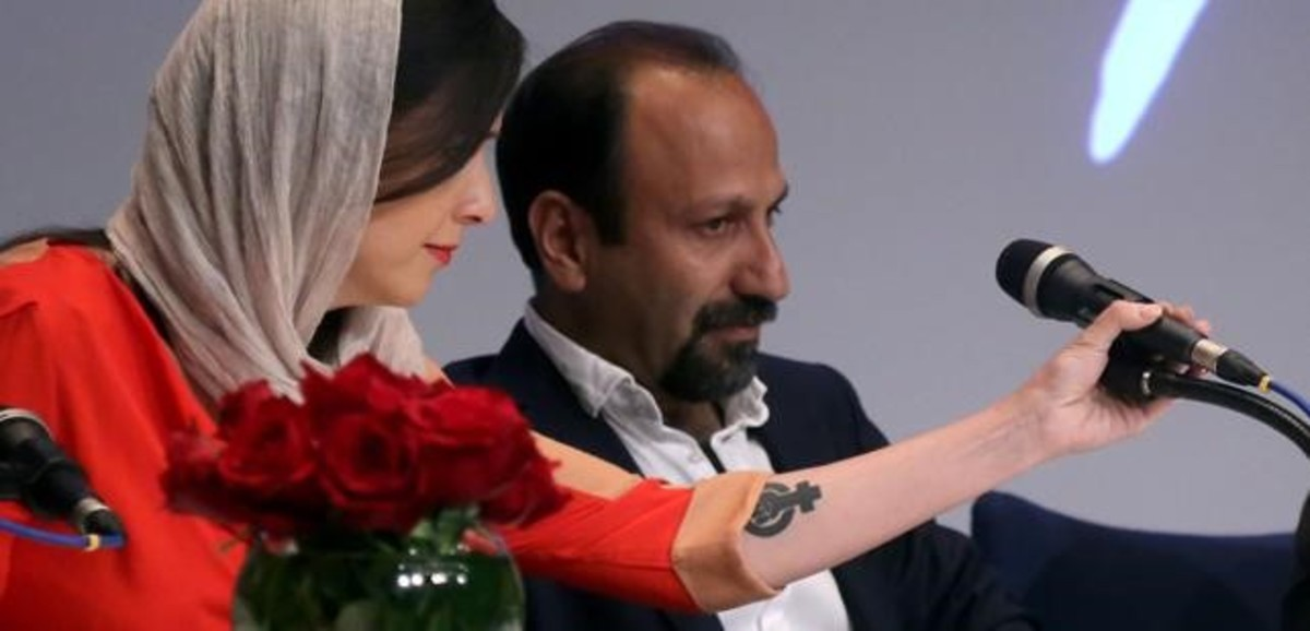 L'actriu iraniana Taraneh Alidousti, qüestionada per un tatuatge feminista