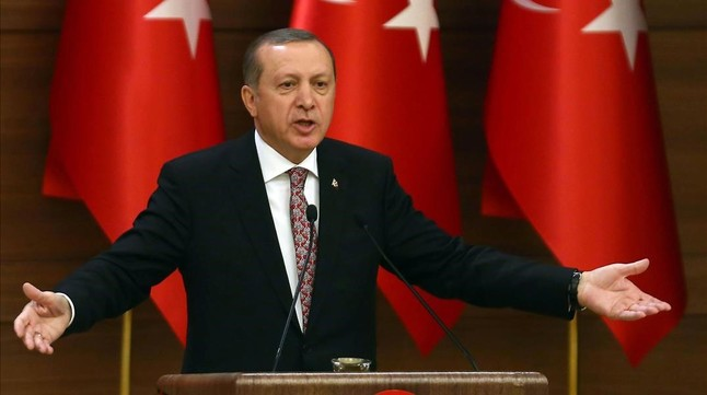 """Erdogan, a la ONU: """"¿Os estáis riendo de nosotros?"""""""