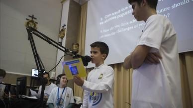 Alumnes en contacte amb la NASA
