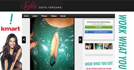 Sof�a Vergara muestra el tanga en Twitter