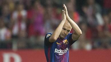 El FC Barcelona homenatja Iniesta amb un vídeo commovedor