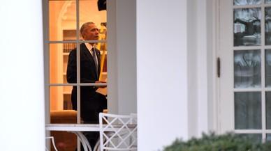 """L'últim tuit d'Obama: """"Ha sigut l'honor de la meva vida servir-vos"""""""