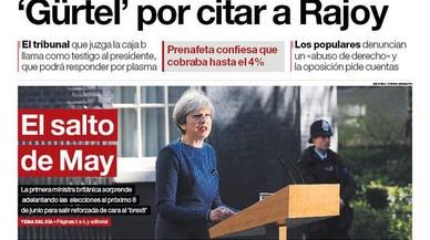 """Només 'La Razón' clama contra la citació de Rajoy per la Gürtel: """"No és justícia, és política"""""""