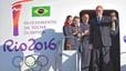 La llama ol�mpica llega a un Brasil al borde del precipicio