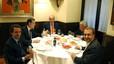 Sopar privat del rei Joan Carles amb Rajoy i els tres expresidents a Casa Lucio