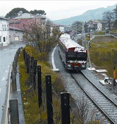 La l�nea de tren de Puigcerd� tendr� un semidirecto
