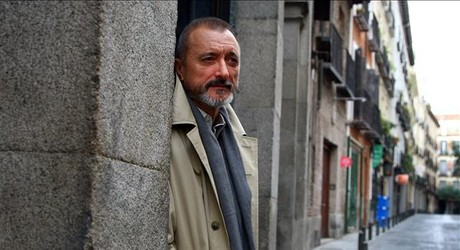 Arturo P�rez Reverte, en Madrid.