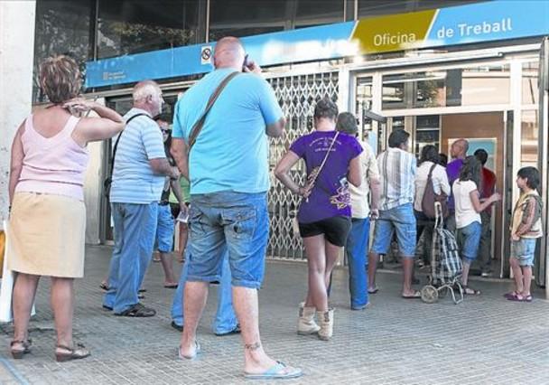 La ocupaci n crecer un 1 3 de media hasta octubre for Oficinas de trabajo temporal en barcelona