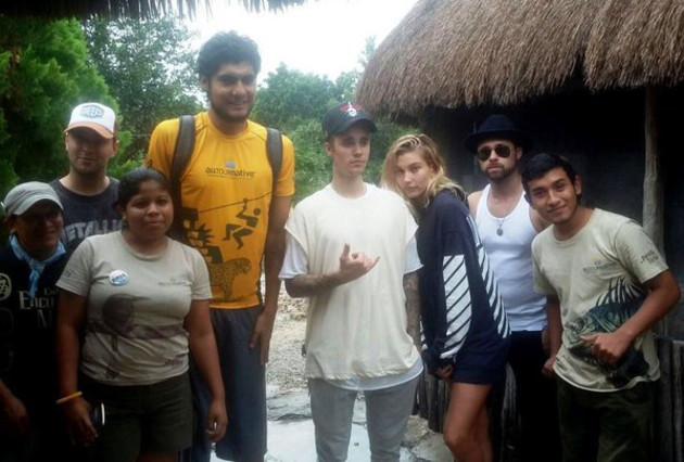 Justin Bieber, expulsado de las ruinas de Tulum, en México