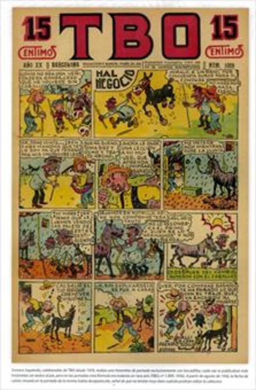 Eustaquio Morcillón y Babali TBO 100 años en 7 personajes La familia Ulises BENEJAM Dibujante ( 1890-1975)_MEDIA_1