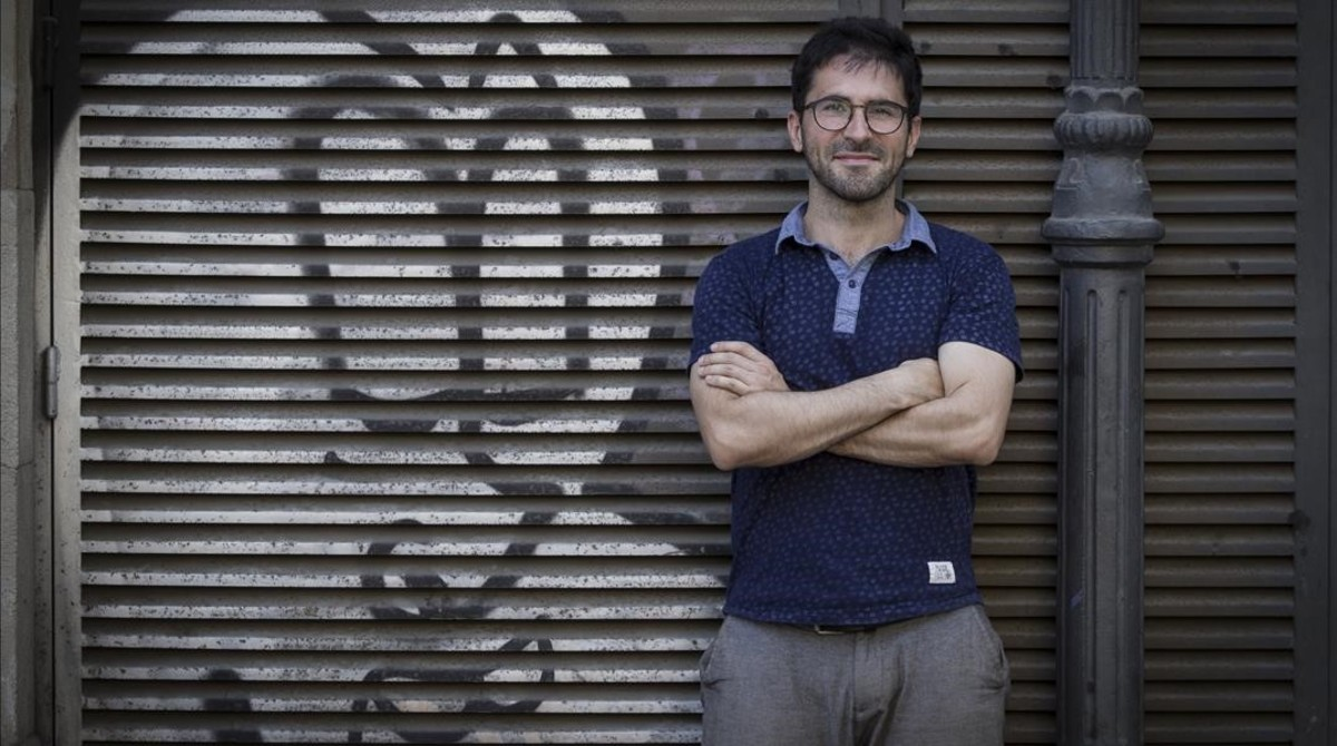 Agus Morales, autor del libro No somos refugiados