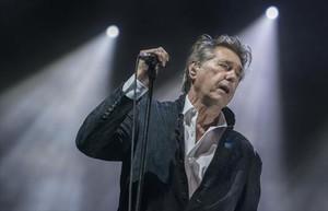 Concierto del cantante británico Bryan Ferry en el Festival Castell de Peralada, el pasado viernes.