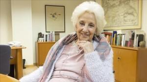 Estela de Carlotto, en Casa Amèrica Catalunya.