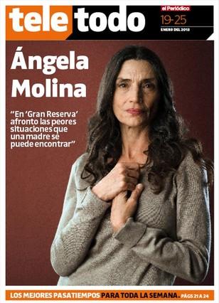 Ángela Molina, la buena de 'Gran reserva'