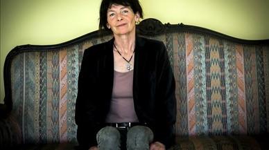 Catherine Poulain, en el Instituto Francés de Barcelona.
