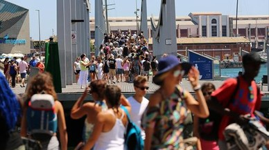 Espanya rep 32,8 milions de turistes estrangers fins al juny i apunta al r�cord
