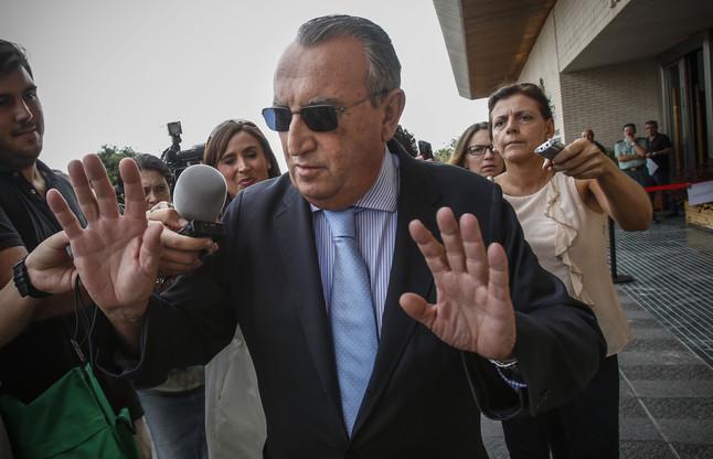 El expresidente de la Diputación de Castellón, Carlos Fabra.