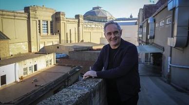 "Ferran Adrià: ""Hemos creado un diálogo entre Montjoi y Montjuïc"""
