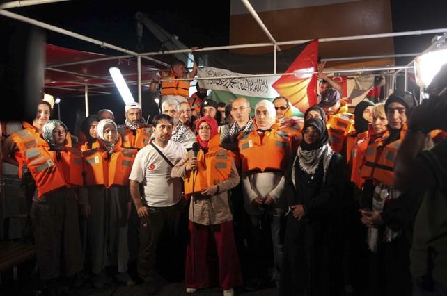 Al menos 10 muertos en un ataque de Israel a una flotilla de ayuda a Gaza