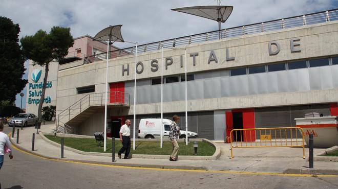 Detingut un fals metge que exercia a l'Hospital de Figueres