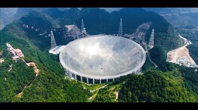 China suma su radiotelescopio a la búsqueda internacional de extraterrestres