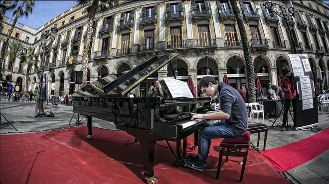 Pianos al carrer