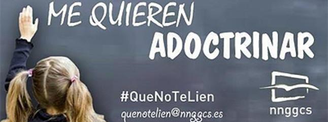 El PP de Castellón apoya la campaña de Nuevas Generaciones contra el adoctrinamiento en clase