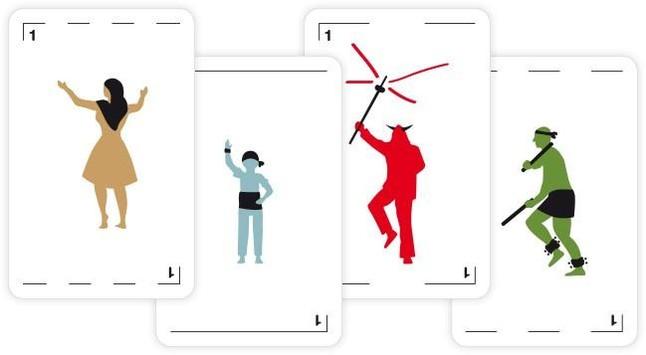 Sardanistas, 'castellers', 'diables' y 'bastoners' copan la primera baraja de cartas catalana