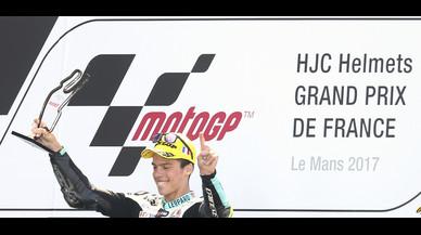 Mir arrasa a Le Mans i reforça el seu liderat en Moto3