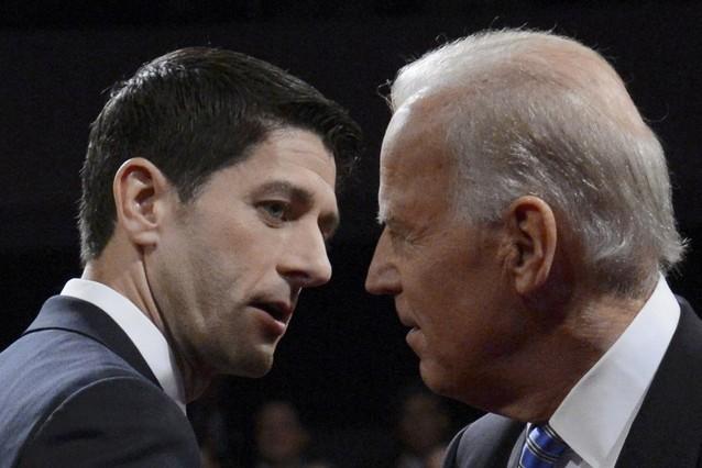 Biden da un respiro a Obama arrinconando a Ryan en un debate vibrante