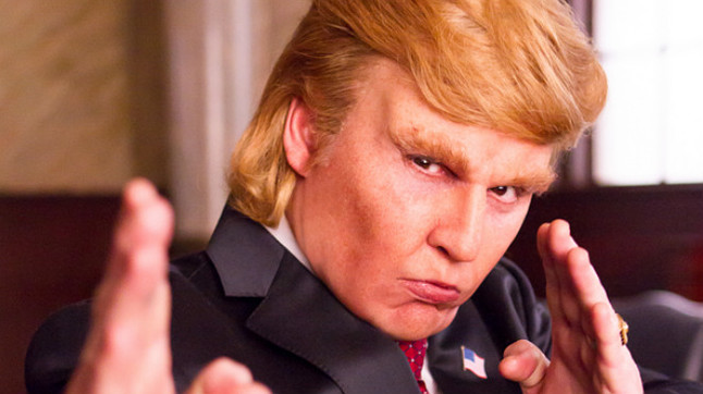 Johnny Depp, espectacular en la piel de Donald Trump