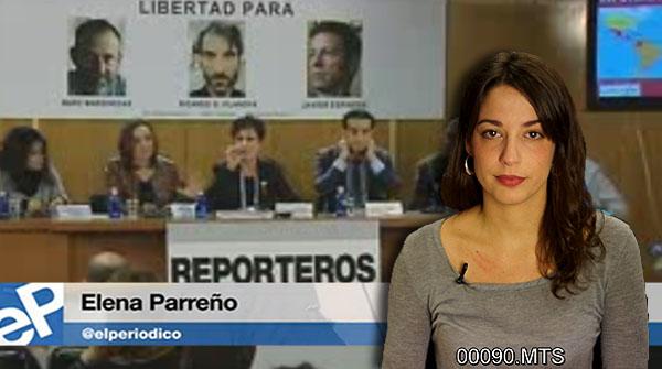 El segrest de periodistes el 2013, a L'informatiu