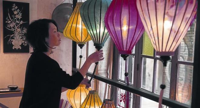 Kaori Takahashi abrió la tienda Momo Barcelona hace casi dos décadas.