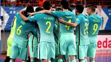 El Barça de futbol sala dona el cop a Madrid a la tanda de penals