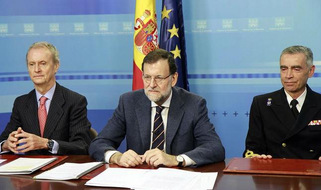 """Rajoy a los militares en el extranjero: """"Han situado a España en el ámbito de la seguridad global"""""""