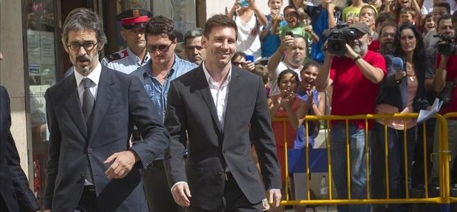 """Messi: """"Nunca miro los contratos,<br> no s� lo que firmo"""""""