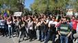 La policía protege al autobús de 'Hazte-Oír', ante la protesta ciudadana